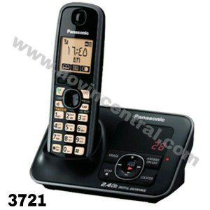 گوشی تلفن بی سیم پاناسونیک مدلKX-TG3721